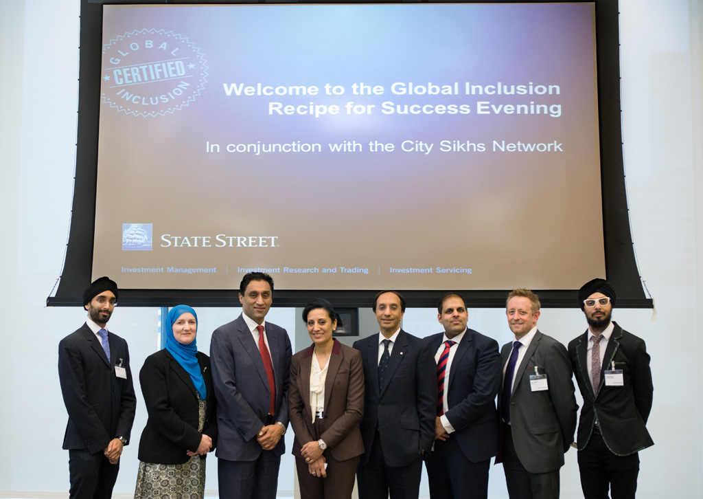 City Sikhs Directors, Panel of Speakers and State Street Exec