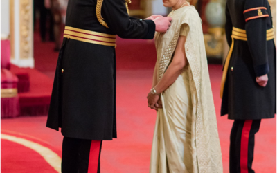 Advisory Board Member of City Sikhs, Kamel Hothi, receives OBE from Prince Charles
