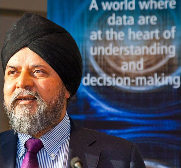 Jagdev Singh Virdee, Editor of the British Sikh Report, receives MBE in the Queen's Birthday Honours List 2018