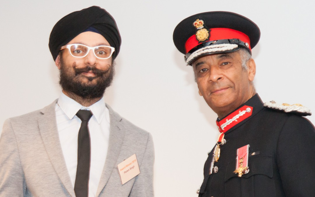 Param Singh, Founding Member of City Sikhs, named 'Inspirational Individual' at the London Faith & Belief Community Awards 2018