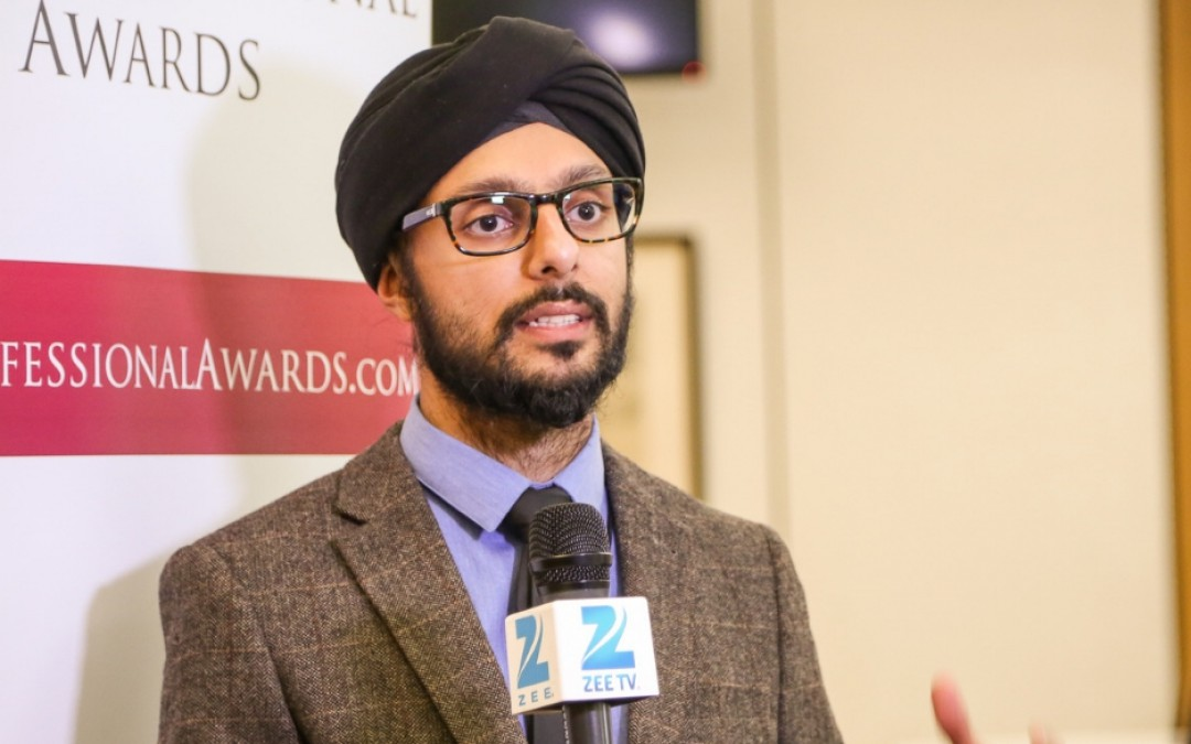 Param Singh, City Sikhs Founder and Deputy Chair, receives MBE in the New Year's Honours 2019