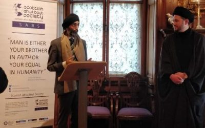 Celebrating Guru Nanak's 550th birth anniversary at a ground-breaking event in Edinburgh